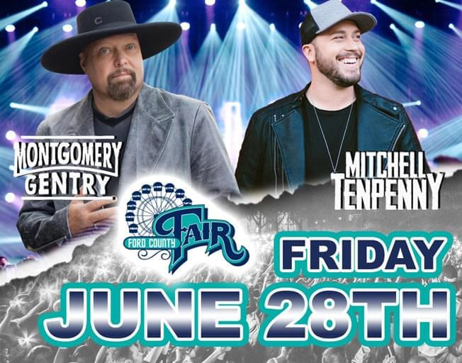 Win Tickets To The Ford County Fair As A B104 Insider