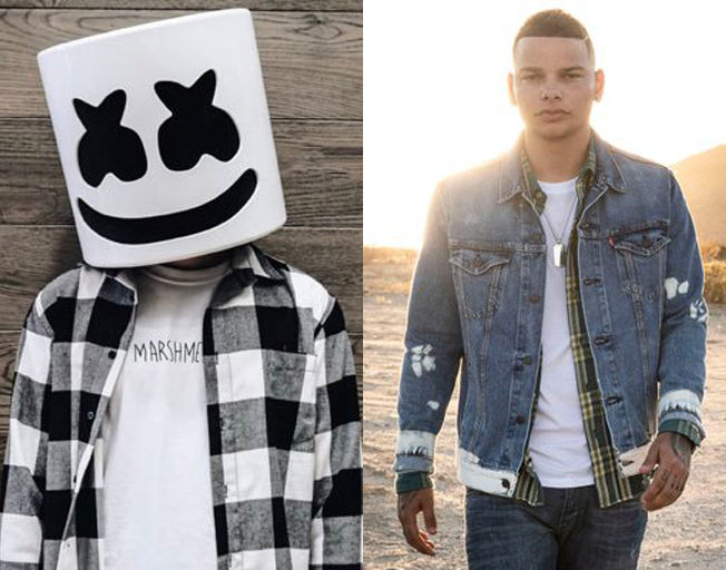 Marshmello Jumps on Country Bandwagon, Announces Kane Brown Collaboration