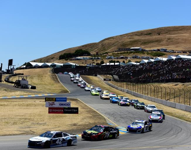 NASCAR on First Road Course of 2019 for Toyota/Save Mart 350 at Sonoma Racway