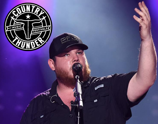 Win Tickets on the B104 Bus to Luke Combs at Country Thunder