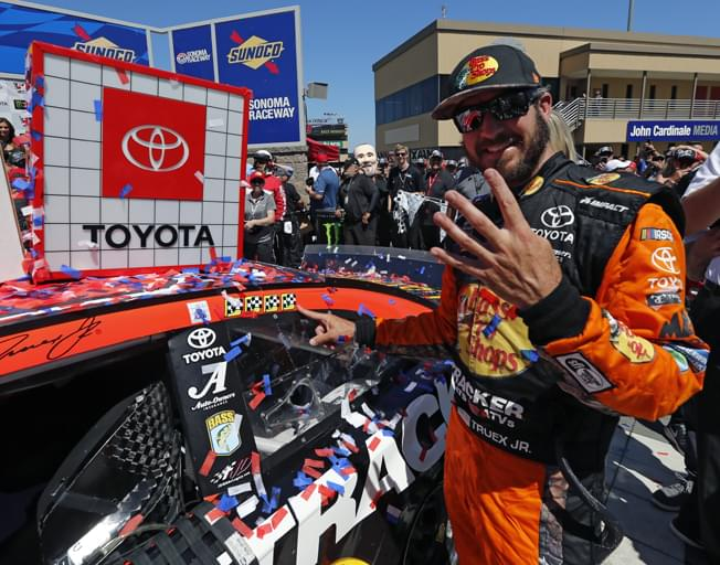 Fourth for Truex and Last for DW at Sonoma [VIDEO]