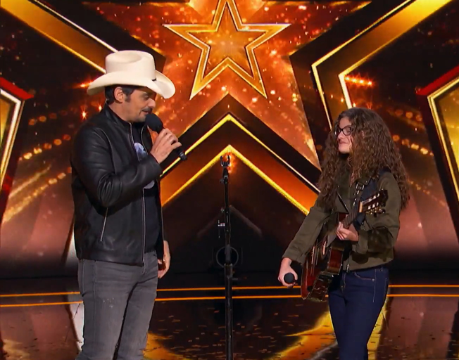 15-Year-Old Singer-Songwriter Earns Golden Buzzer from Brad Paisley [VIDEOS]