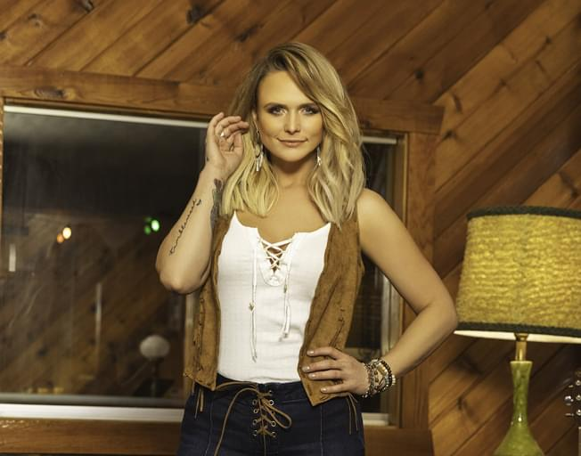 Listen for the World Premier of Miranda Lambert's New Song on B104