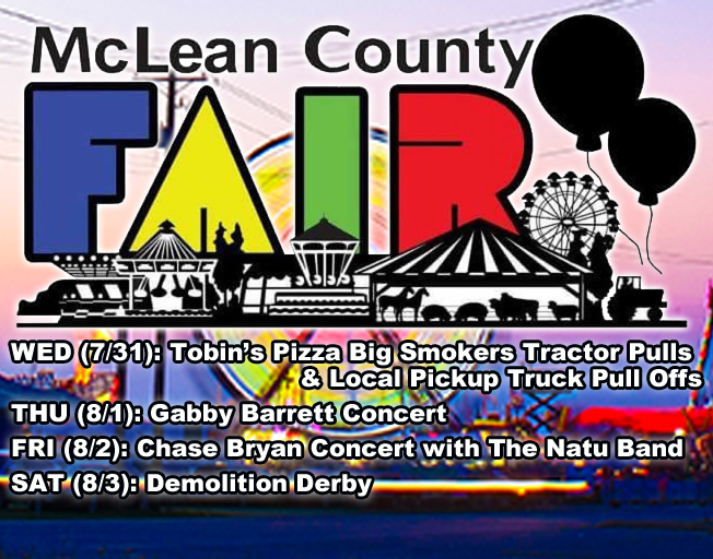 Win Tickets to McLean County Fair Grandstand Shows