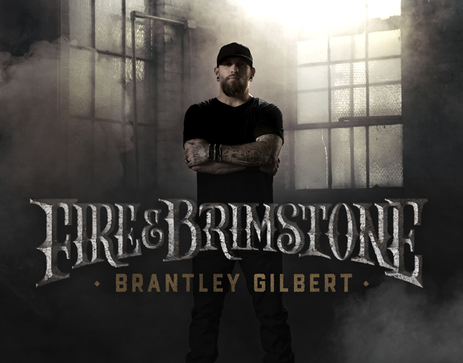 Brantley Gilbert to Release 'Fire & Brimstone' October 4th
