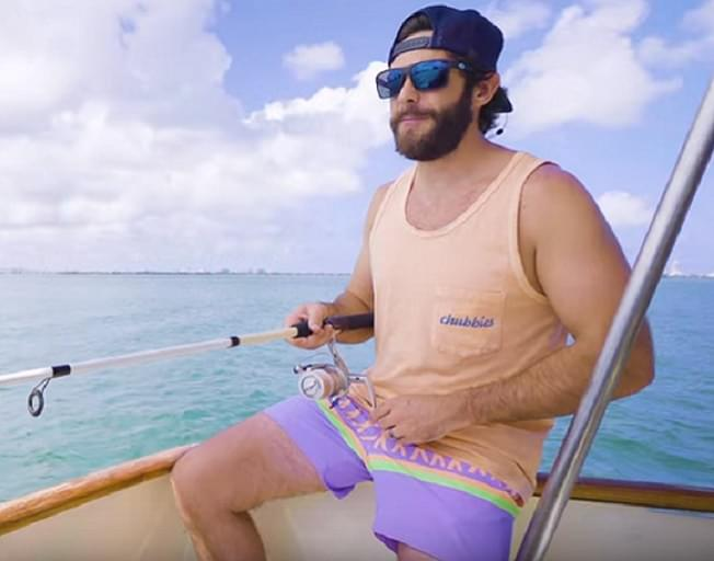 Check Out Thomas Rhett's Family Swim Collection