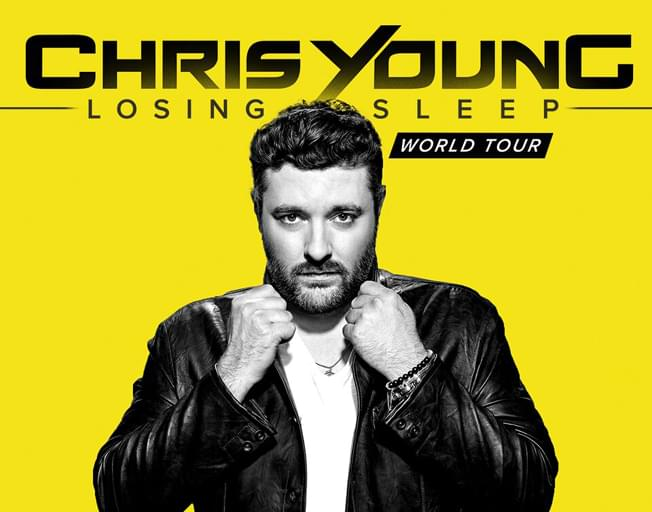 Chris Young Brings Losing Sleep Tour To Champaign