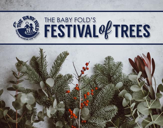 Join 93.7 NASH Icon At The Baby Fold's Festival of Trees