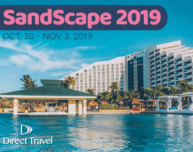 """SandScape 2019"" to Cancun with Direct Travel"