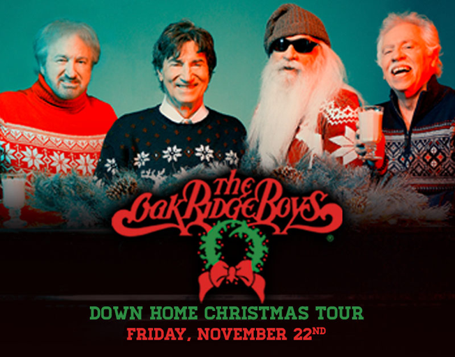 "93.7 NASH Icon Welcomes The Oak Ridge Boys ""Down Home Christmas Tour"" to Peoria"