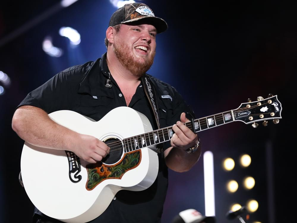 "Listen to Luke Combs' Tender New Single, ""Even Though I'm Leaving"""