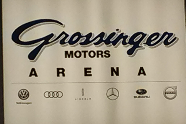 Car dealer buys naming rights to downtown bloomington for Grossinger motors normal il
