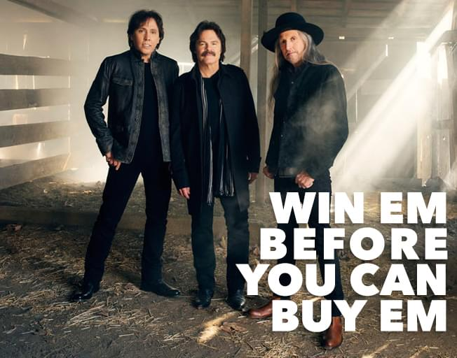 Win Em' Before You Can Buy Em' Doobie Brothers Tickets