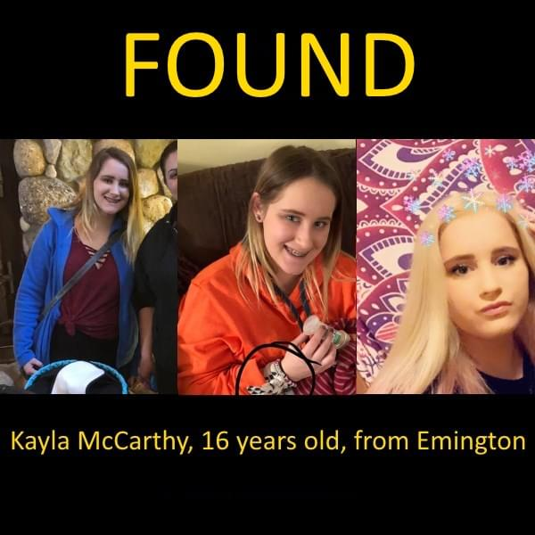 Missing Livingston County Teen Found