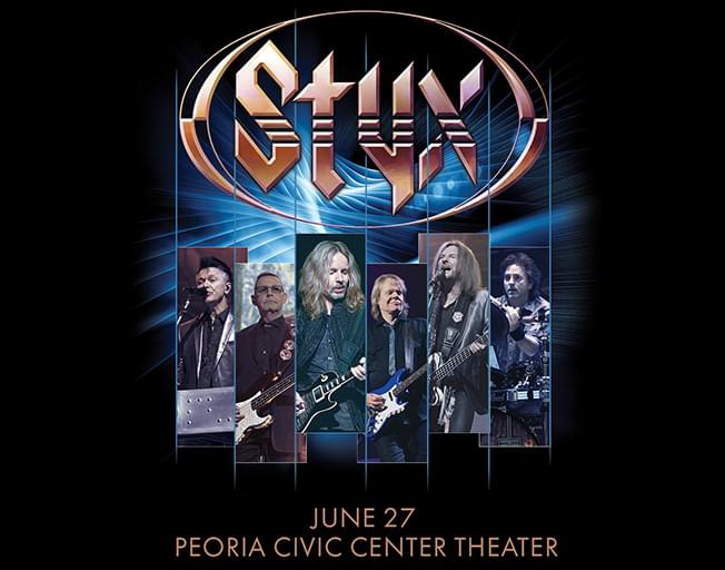 Win Tickets To Styx In Concert on WJEZ VIP