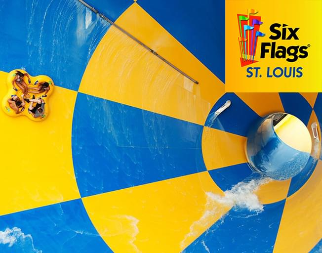 Win A Four Pack of Tickets to Six Flags in St. Louis