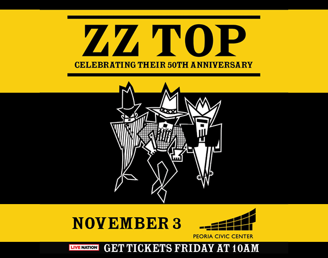 Win Tickets to Rock and Roll Hall of Fame Band ZZ Top