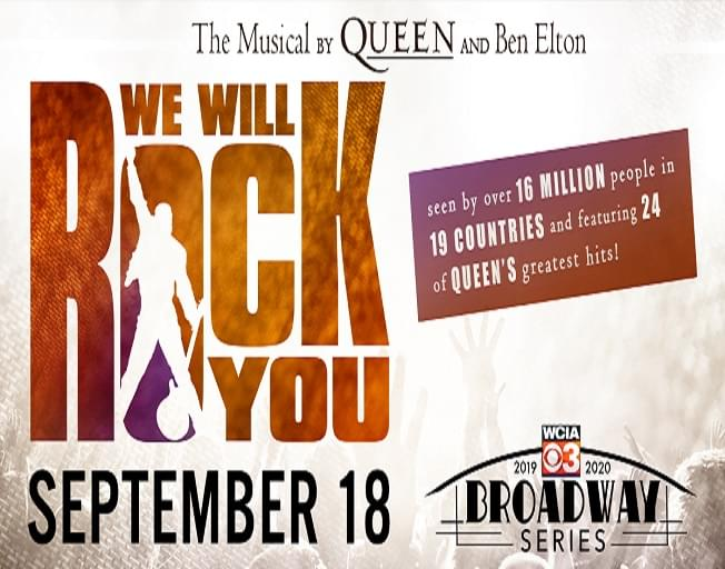 Win Tickets Plus Meet & Greet Passes To 'We Will Rock You' At The State Farm Center