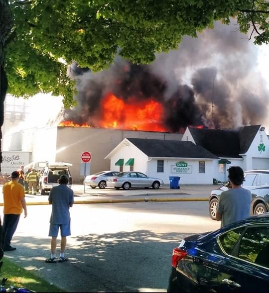 Wright's Fire Investigation Continues