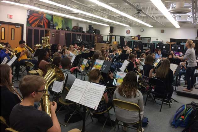 Bloomington High School may receive larger band room, new field turf