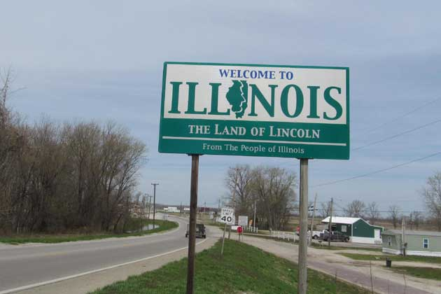 Illinois sign