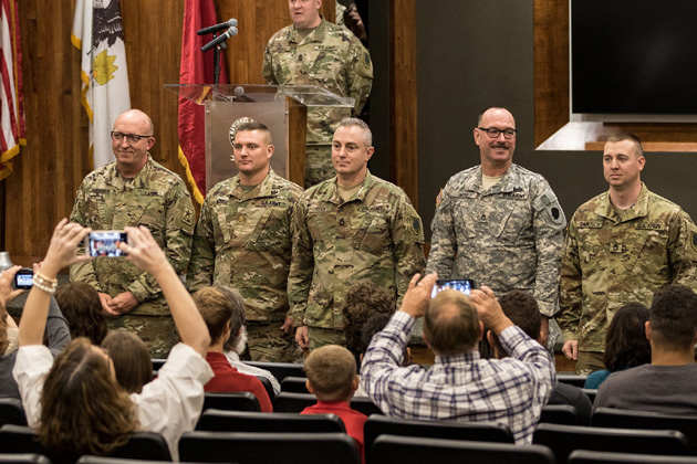 Guard program to help families at home while loved ones deploy to Afghanistan