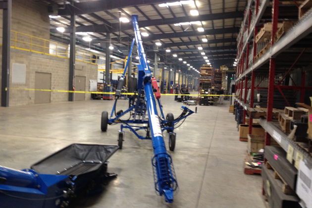 First Brandt-made augers roll off McLean County production line