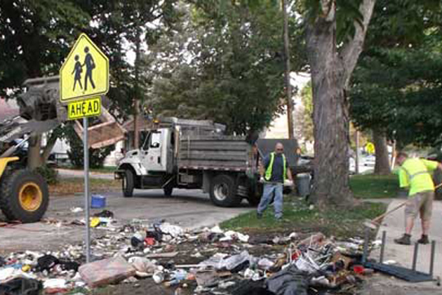 Bloomington solid waste collection