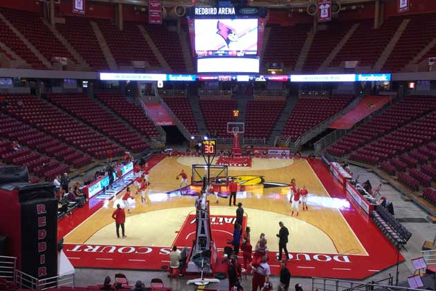Valley schedules released for Redbird men's and women's basketball
