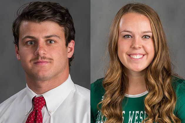 Hassan, Brown named IWU's top athletes at 'Tommy Awards'