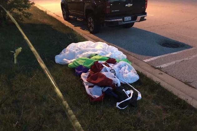 Parachute accident seriously injures skydiver performing at