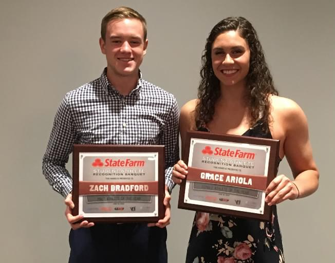 State Farm Student-Athlete Recognition Banquet presents 11 awards