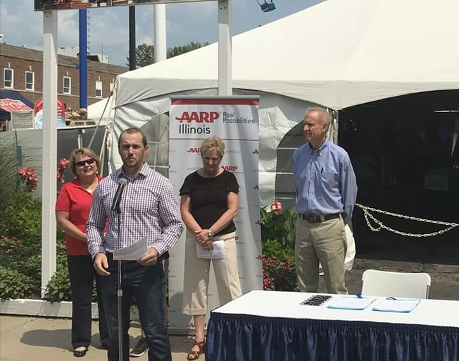 Senior-related bills signed at Illinois State Fair