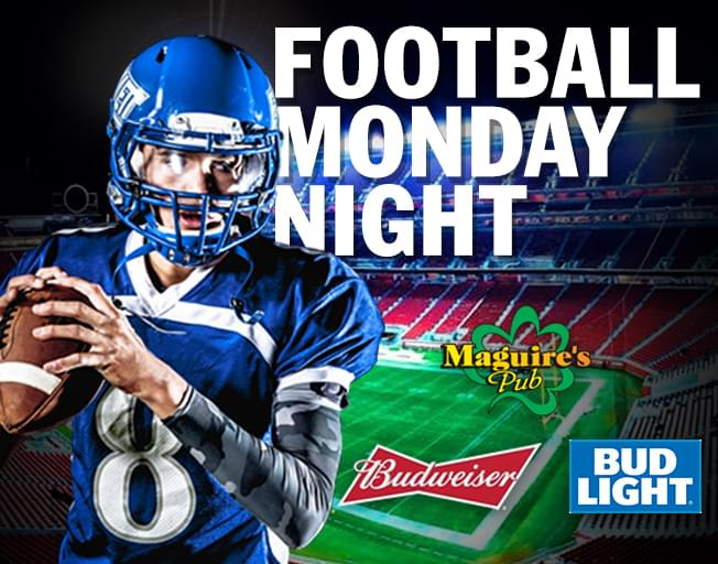 WJBC's Football On Monday Nights at Maguire's
