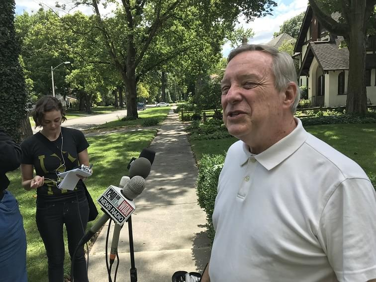 Durbin addresses games being played in D.C.