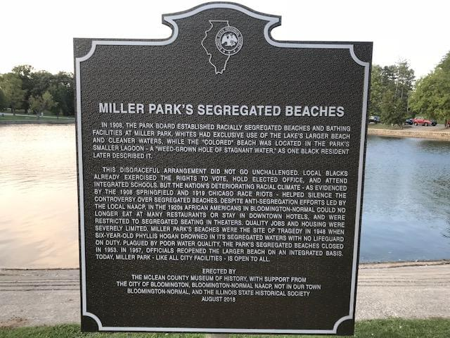 Historical marker uncovers Miller Park's hidden history of racial segregation