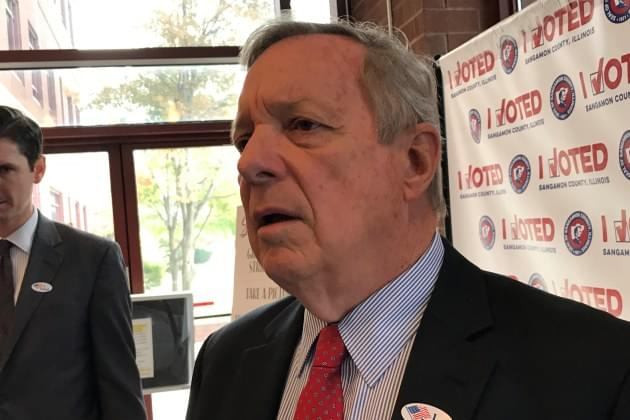 Durbin: Members in Trump administration itching for war with Iran