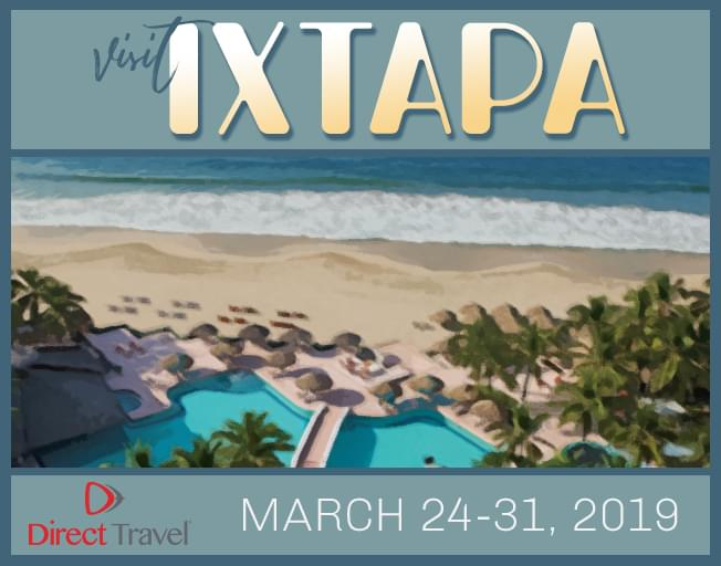 Direct Travel's All Inclusive Winter Getaway To Ixtapa