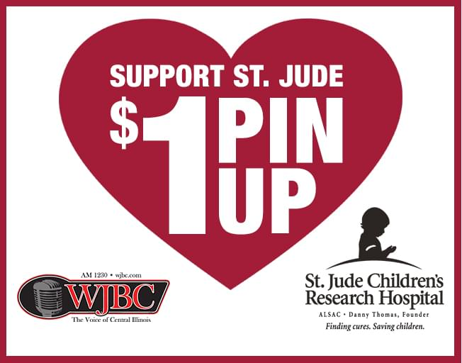 Support St. Jude With A Pin Up At These Locations