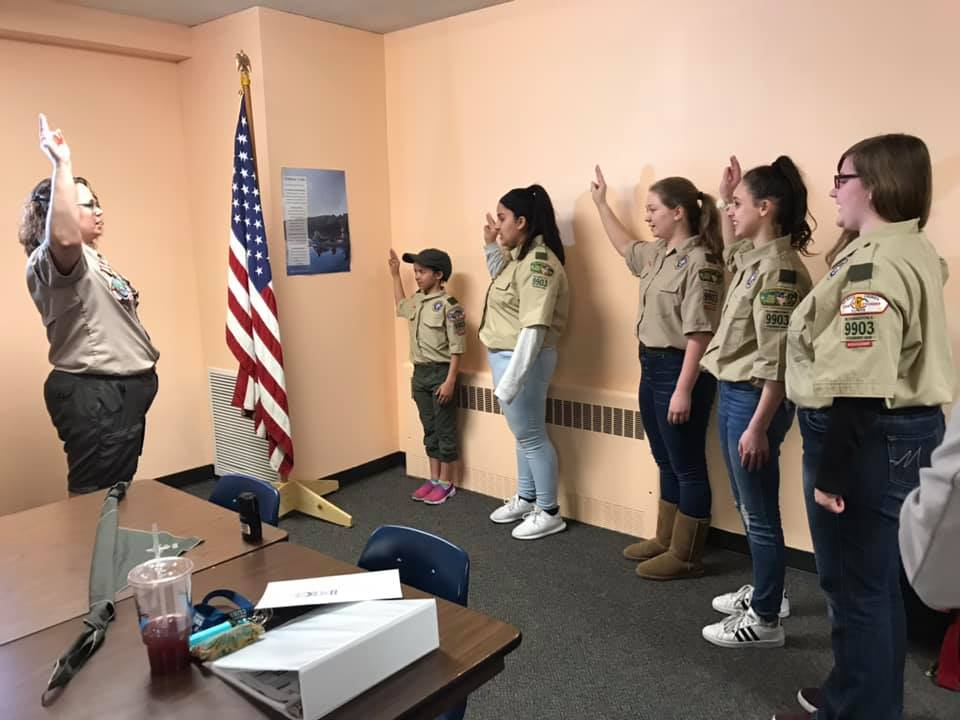 Trailblazing girls join first all-female Boy Scouts troop in Twin-Cities