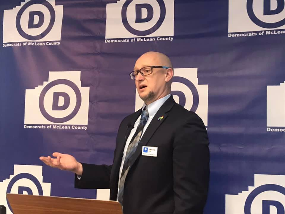 McLean County Democratic chairman looks to win rural votes