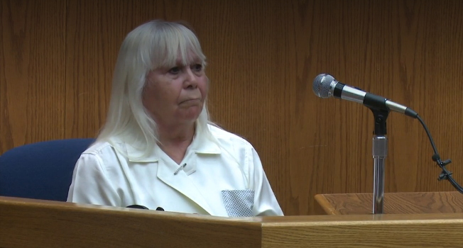 UPDATED: Witness who claims she saw Zimmerman at murder scene struggles to see him in court