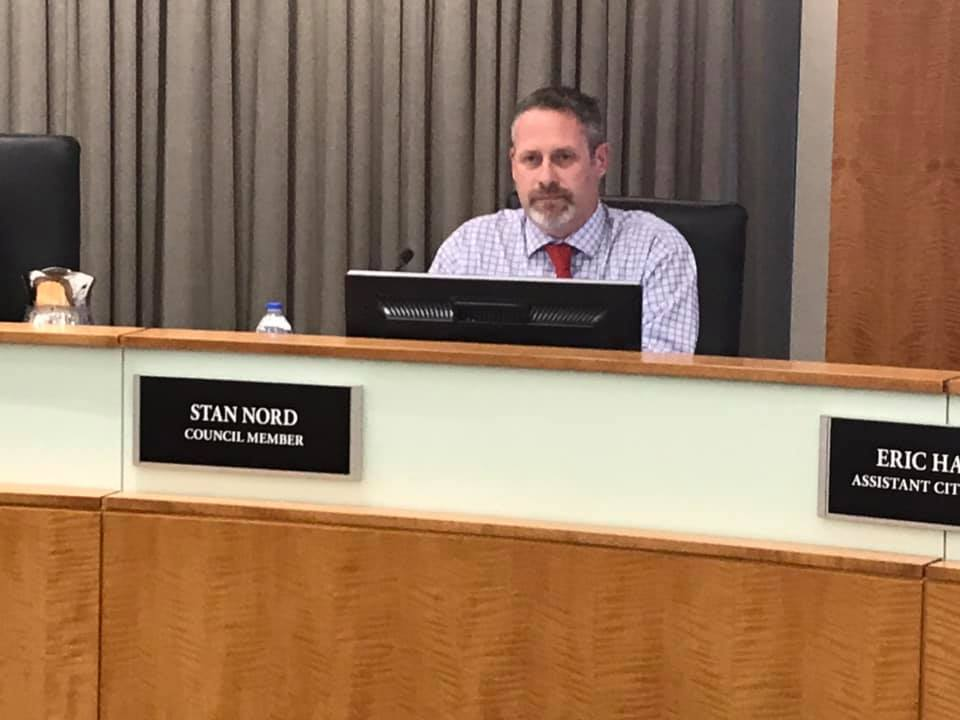 New Normal council member Nord makes waves at first meeting