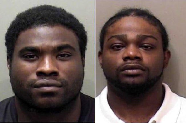 Local men arrested in connection to Bloomington armed robberies