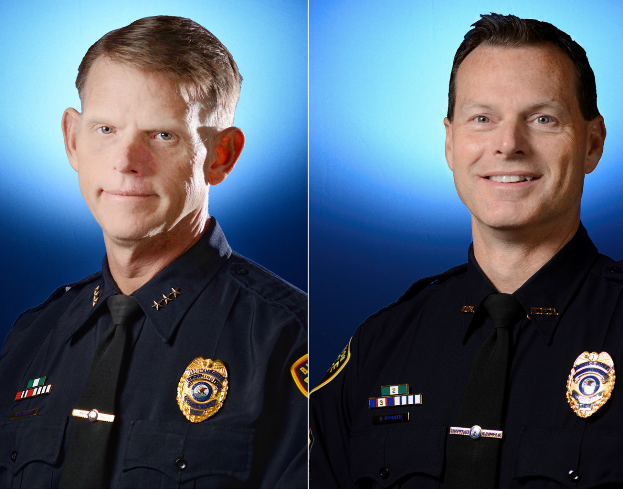 Gleason names two interim police chiefs