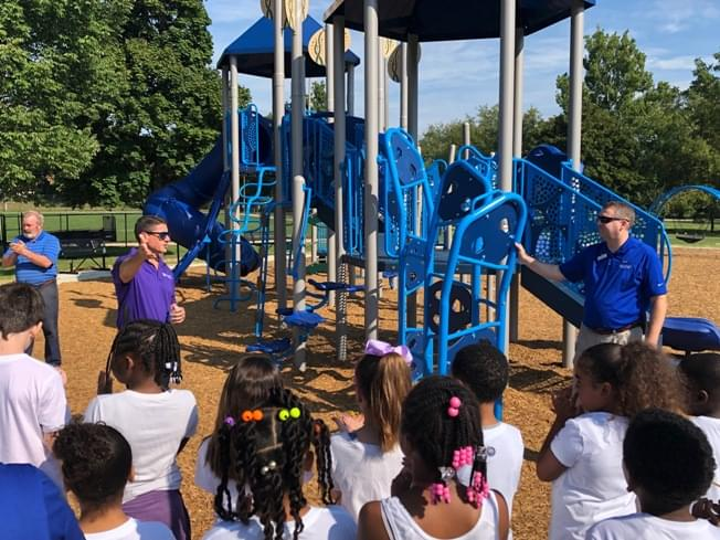 New equipment ready for play at O'Neil Park