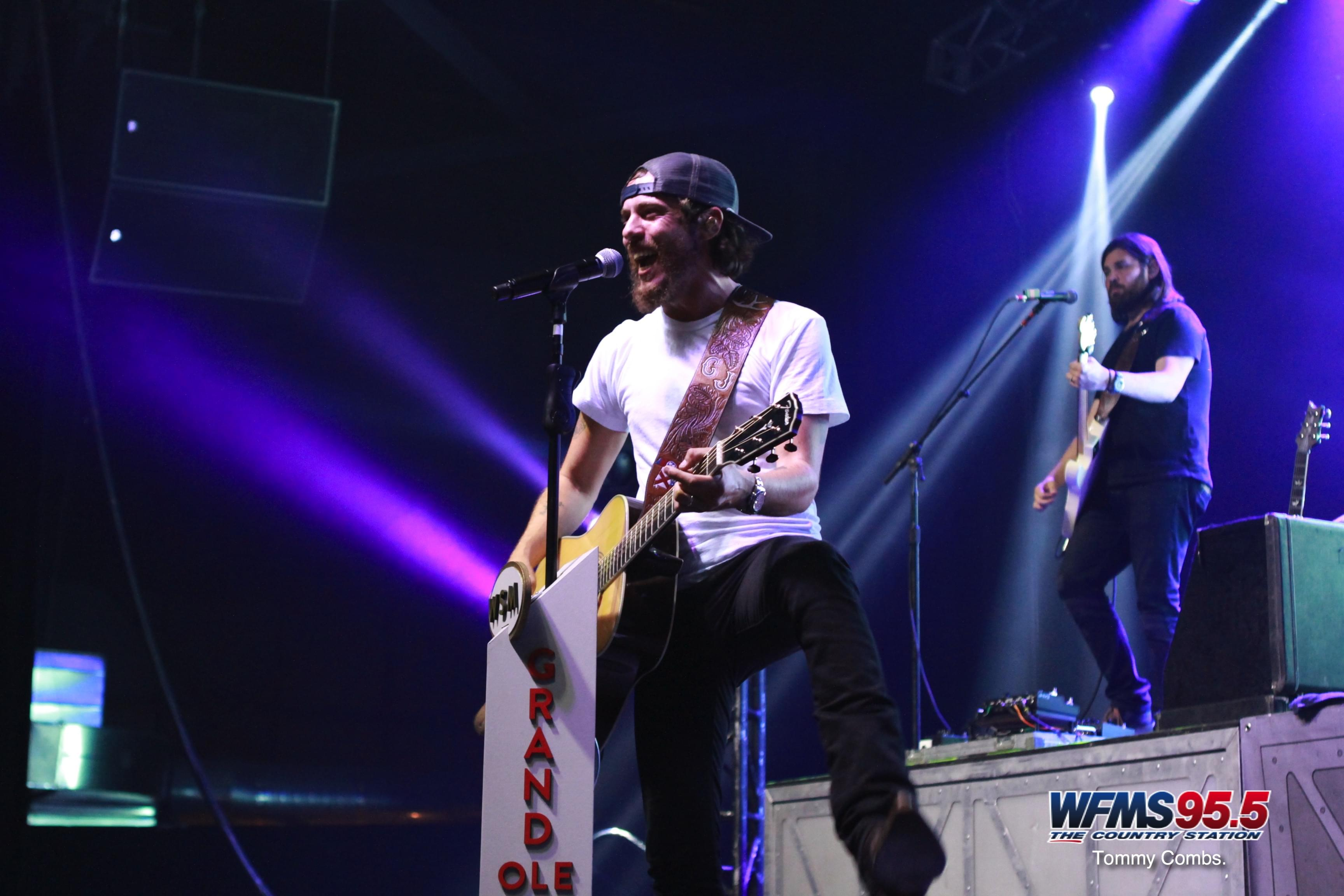 Photos from Chris Janson with Ben Rue & Corey Cox!