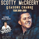 Win Tickets to see Scotty McCreery with special guests Chase Bryant and Heather Morgan!