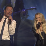Doin' Some Sangin: Carrie Underwood and Jimmy Fallon Get it Done