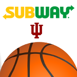 Register for a chance to win an autographed basketball, a Subway gift card, and a chance for a VIP IU Basketball Experience!